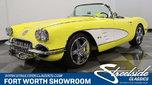 1958 Chevrolet Corvette Convertible Restomod  for sale $134,995