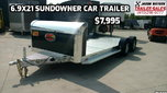 2020 Sundowner 6.9X21 Open Car Hauler #8003