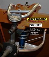 Autofab 55-57 Chevy Tubular Control Arms