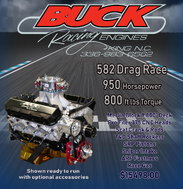 582 Big Block Chevy Bracket Engine Top Dragster Top Sportsma  for sale $15,498