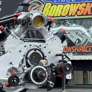 3,500 hp rated, Twin Turbocharged, Billet LS Engine