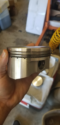 New forged 5.3 LS pistons with rings
