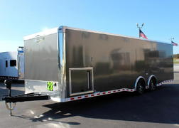 Ready in Dec. 28' 2022 Extreme Race Car Trailer