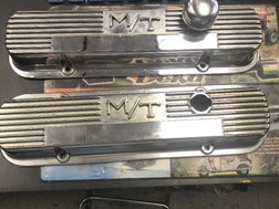 PONTIAC VALVE COVERS  for sale $75