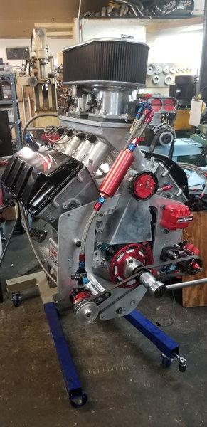 650 cid Ford Hemi