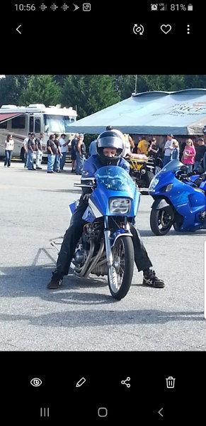 Kawaski Drag Bike  for Sale $6,500