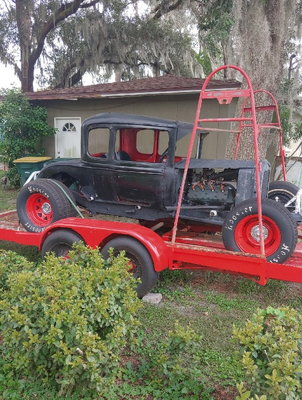 1930-31 MODEL A FORD COUPE