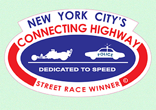 New York City's Connecting Highway Street Winner Decal  for Sale $7.49