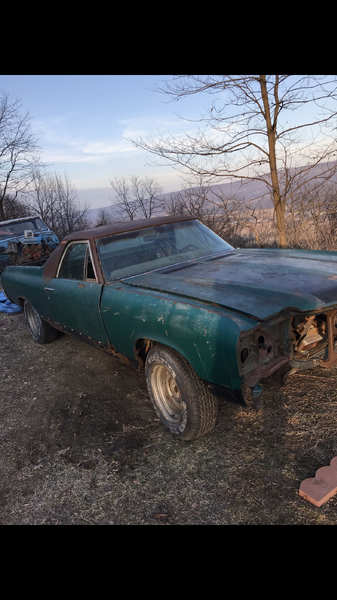 1972 Chevrolet El Camino  for Sale $2,000