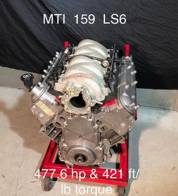 MTI 159 LS 6 477hp & 421 ft/lb torque