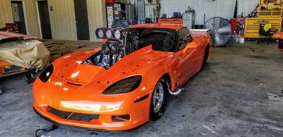 25.3 Blown C6 Corvette