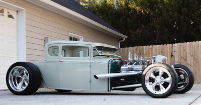 1931 Ford Model A Coupe - All Steel Henry Ford