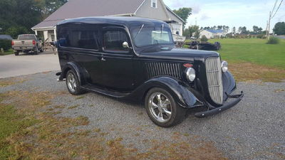 1937 FORD PANEL