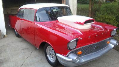 Nice 57 Chevy Drag Car
