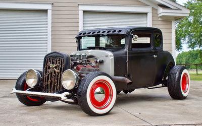 1932 Chevrolet 5-Window Coupe STEEL BODY