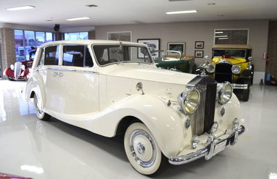 1951 Rolls-Royce Silver Wraith Hooper Touring Limousine