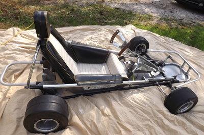 BlackHawk Poison Arrow  Vintage Racing Go Kart - EXCELLENT