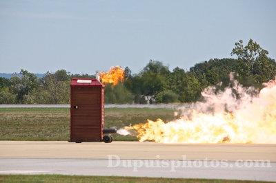 Original Jet Powered Outhouse