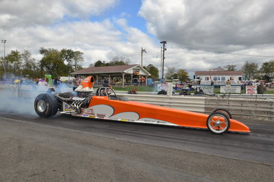 2003 Worthy Dragster 4 link