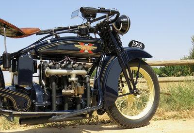 1928 Henderson Deluxe 4 cylinder