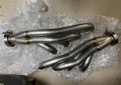 """Valley Speed Stainless 1 7/8"""" SBF Turbo Headers, TFS +"""