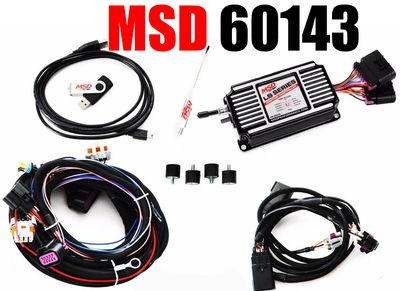 MSD 60143 Black LS Ignition Control Carb Swap LS1 LS2 LS3 LS