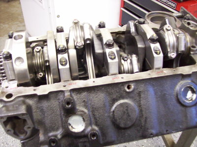 SBC 421 SHORT BLOCK