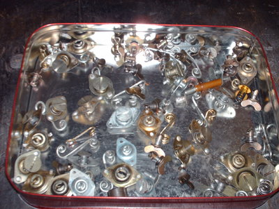 over 50 used zues & springs