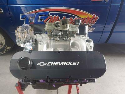 Big Block Chevy 454 .040 Over, FRESH New Bearings Pistons Ro