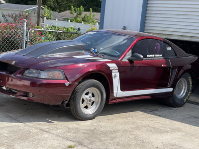 Track Built 1999 Ford Mustang