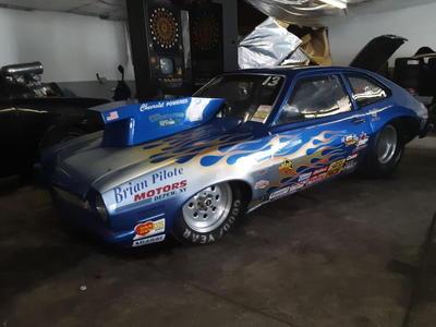 Pinto drag car