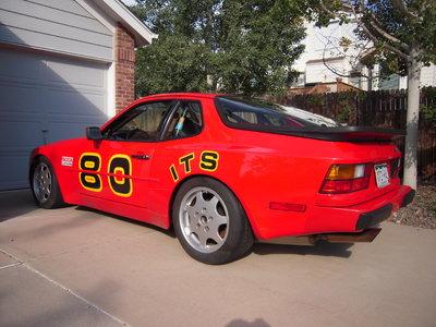 1987 Porsche 944S ITS