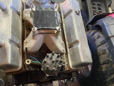 355 small block Bull Power motor