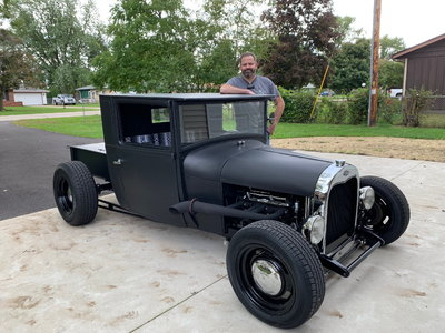 1928 ford pickup hot rod
