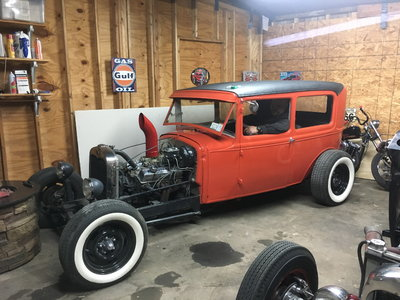 1929 model a rat rod/hot rod