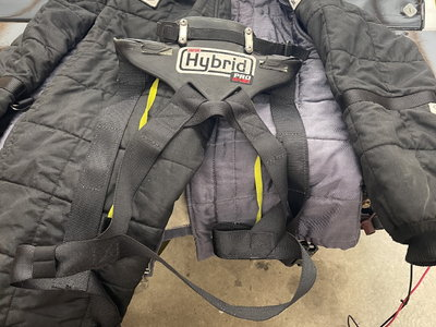 Sparco fire suit 3-2A/15 - Simpson hybrid