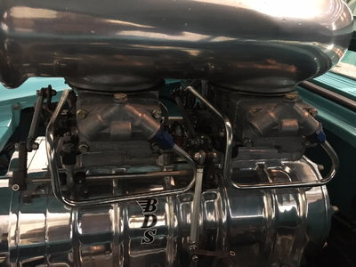 HOLLEY BLOWER CARBS