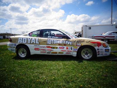 NHRA 2000 Pontiac Grand Am Legal Stock Drag Race Car