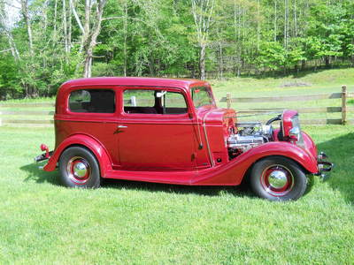 1935 Chevy Standard 2 Door Sedan
