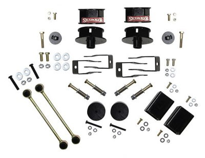 Wrangler JL 4WD (All Models) 2.5 in. Metal Spacer Kit with S