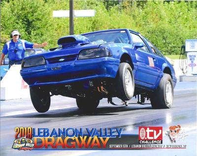 10 Sec. Bracket Car