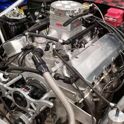 Par Racing 632 All Aluminum Brodix Motor EFI Conversion &