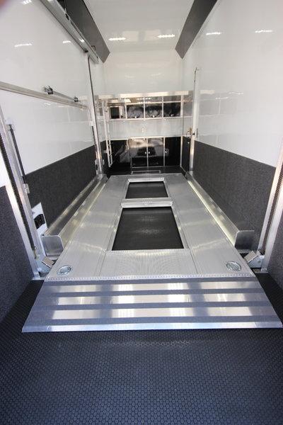 2019 ATC QUEST ST305 26ft Aluminum Stacker Car Trailer