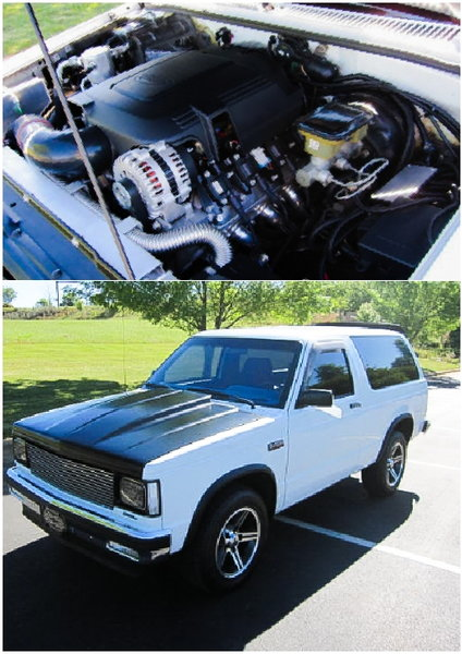 1987 Chevrolet S10 Blazer for sale in Prattville, AL, Price: $16,000