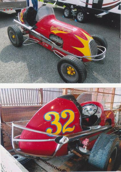 1940s midget dirt racecar