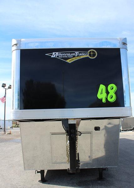 2019 48' Extreme Gooseneck Race Car Trailer LOADED