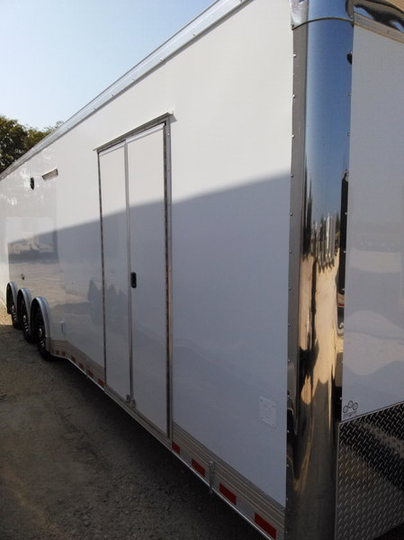 2019 34' BATHROOM / SHOWER WITH A/C TRAILER AUTO MASTER Car   for Sale $32,995