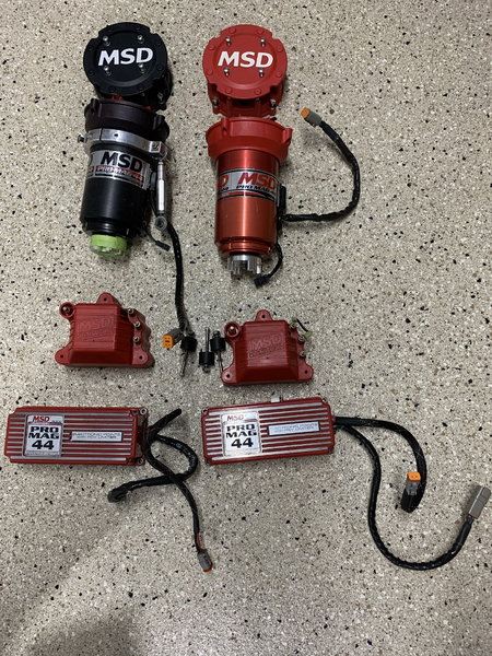 Two MSD Pro Mag 44 49.5 AMPS & Extras  for Sale $5,250