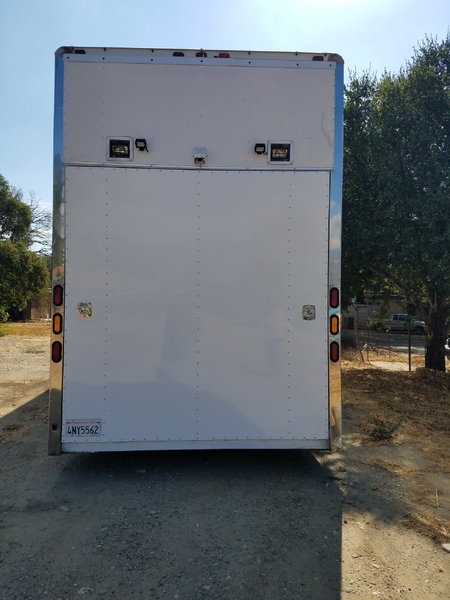 4 car enclosed working trailer  for Sale $50,000
