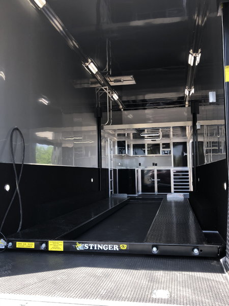 2019 Bravo 32' Stacker Race Trailer